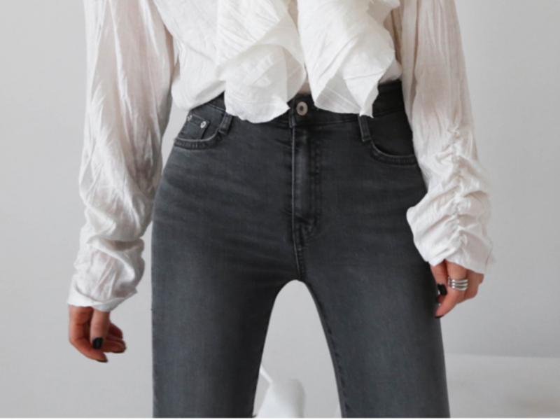 超顯瘦牛仔褲